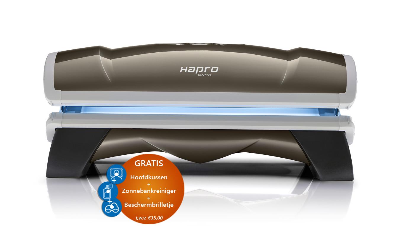 actie hapro onyx 26 5 combi zonnetunnel voor egale. Black Bedroom Furniture Sets. Home Design Ideas