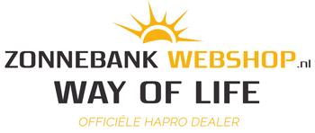 ZonnebankWebshop.nl – Hapro zonnebanken koop je bij ons voor de scherpste prijs & beste service! Logo